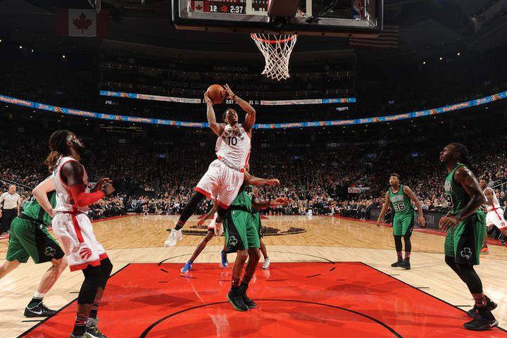DeMar DeRozan porte Toronto dans un excellent comeback face aux Celtics, Serge Ibaka brille pour ses débuts