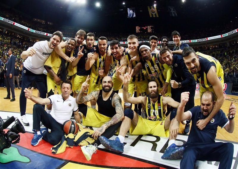 Le Fenerbahçe qualifié pour le Final Four de l'Euroleague