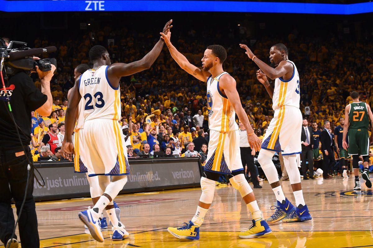 Golden State déroule face au Jazz dans le Game 1