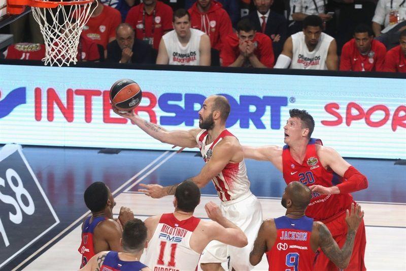 L'Olympiakos élimine le CSKA Moscou au terme d'un incroyable money-time
