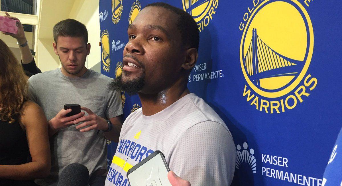 """Kevin Durant : """" Pour moi je devrais être un joueur de la First Team, mais c'est comme ça """""""