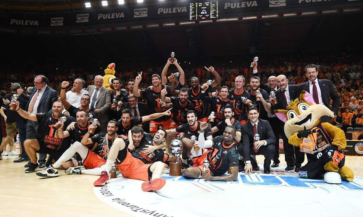 Romain Sato et Valence sacrés champion d'Espagne pour la première fois de l'histoire en battant le Real Madrid !