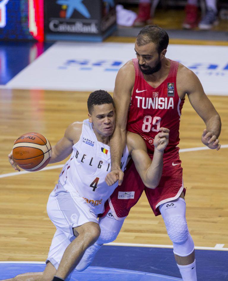Afrobasket masculin 2017 : la Tunisie s'impose face à la Belgique en match de préparation