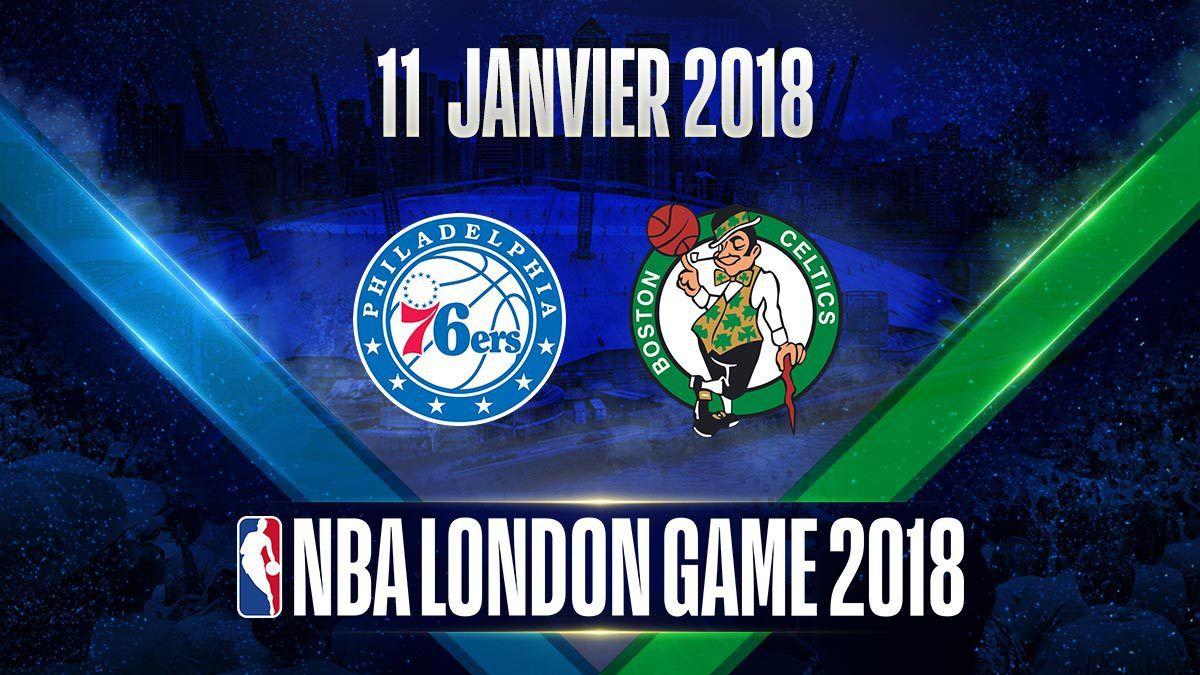 Le match entre Philadelphie et Boston se déroulera à Londres en janvier 2018