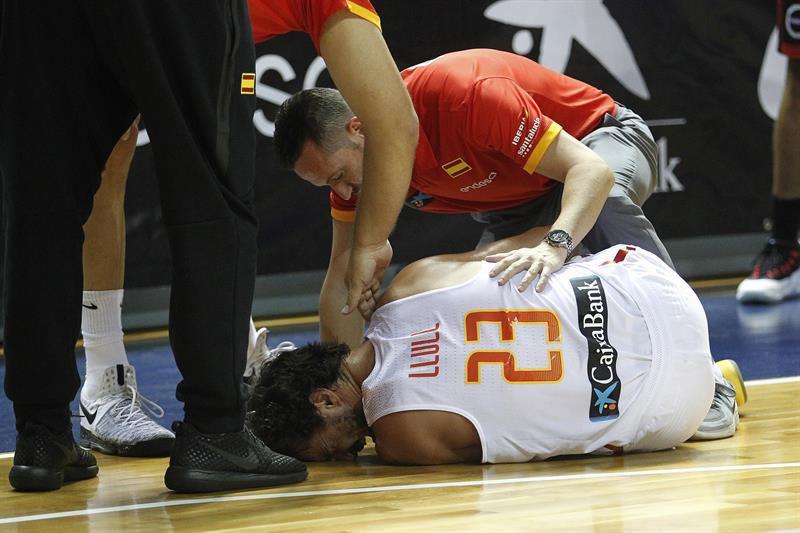 Eurobasket 2017 : Sergio Llull à l'hôpital après s'être blessé à un genou