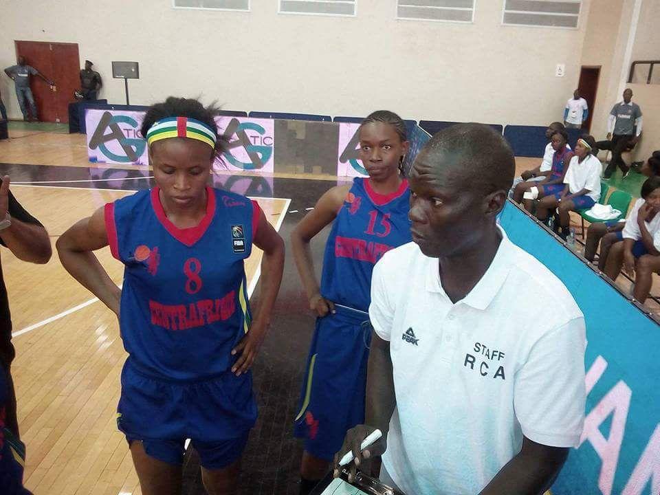 Afrobasket féminin : la Centrafrique s'incline, Abety Kossi étincelante avec un double-double