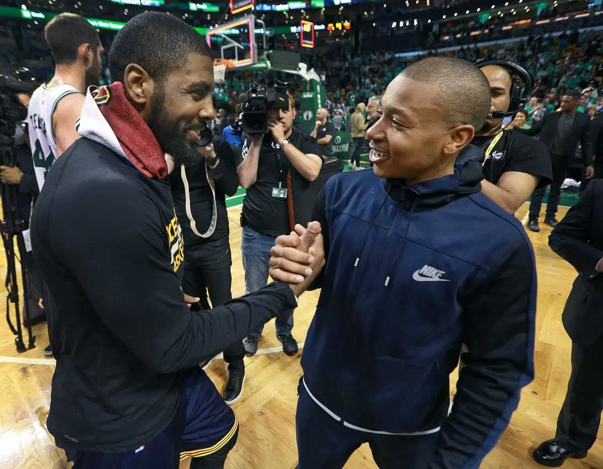 Officiel : Kyrie Irving transféré à Boston en échange d'Isaiah Thomas