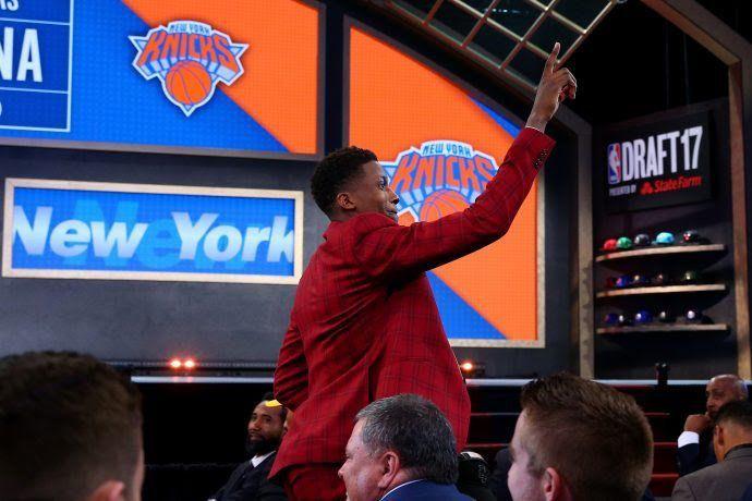 Frank Ntilikina, joueur d'origine Rwandaise: «Être drafté par les Knicks, c'est une bénédiction»