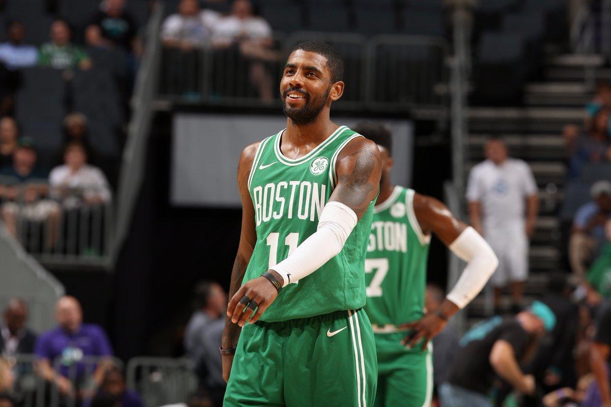 Pré-saison : Kyrie Irving permet aux Celtics de rester invaincus