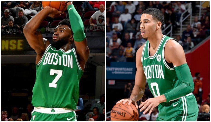 Jaylen Brown et Jason Tatum sauveurs de Boston ? Les deux joueurs vont devoir grandir plus vite que prévu car c'est désormais sur eux que repose l'espoir de tous les fans des Celtics après la grave blessure de Gordon Ayward.
