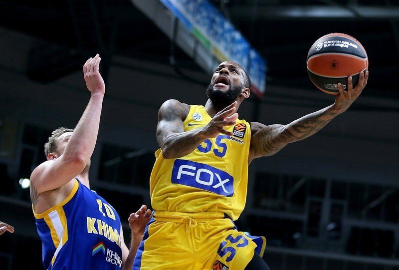 Le Maccabi Tel-Aviv domine le Khimki Moscou