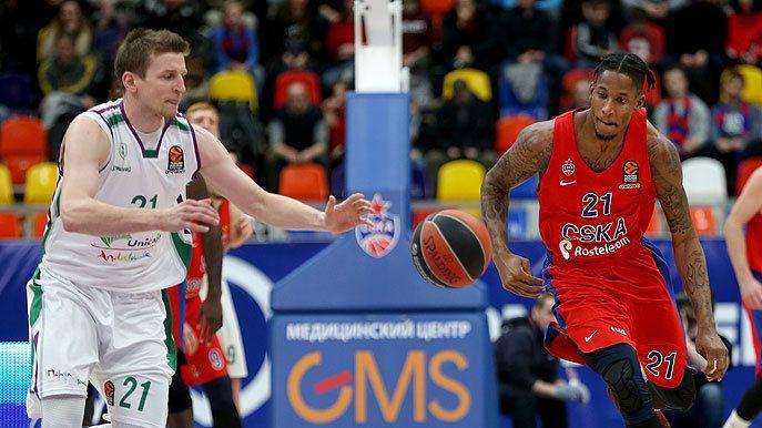 Le CSKA Moscou cartonne face à Malaga