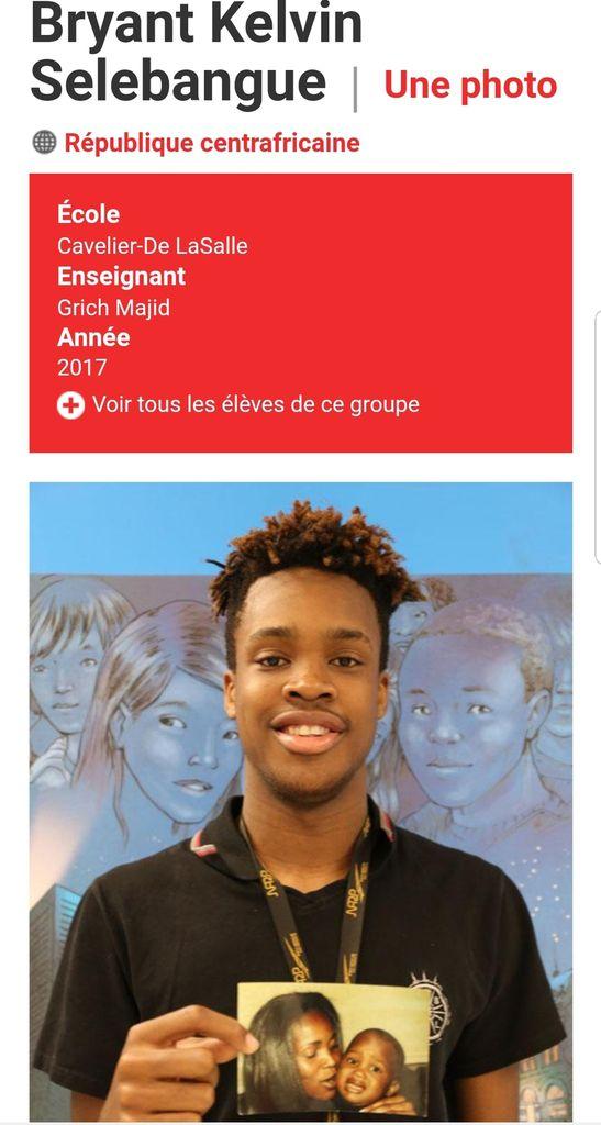 Le jeune pépite centrafricain Bryant Selebangue, pourrait porter le maillot du Canada