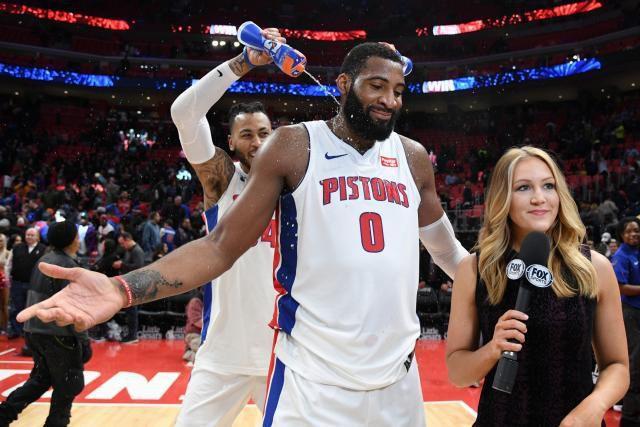 Les Detroit Pistons dominent Washington grâce à Andre Drummond