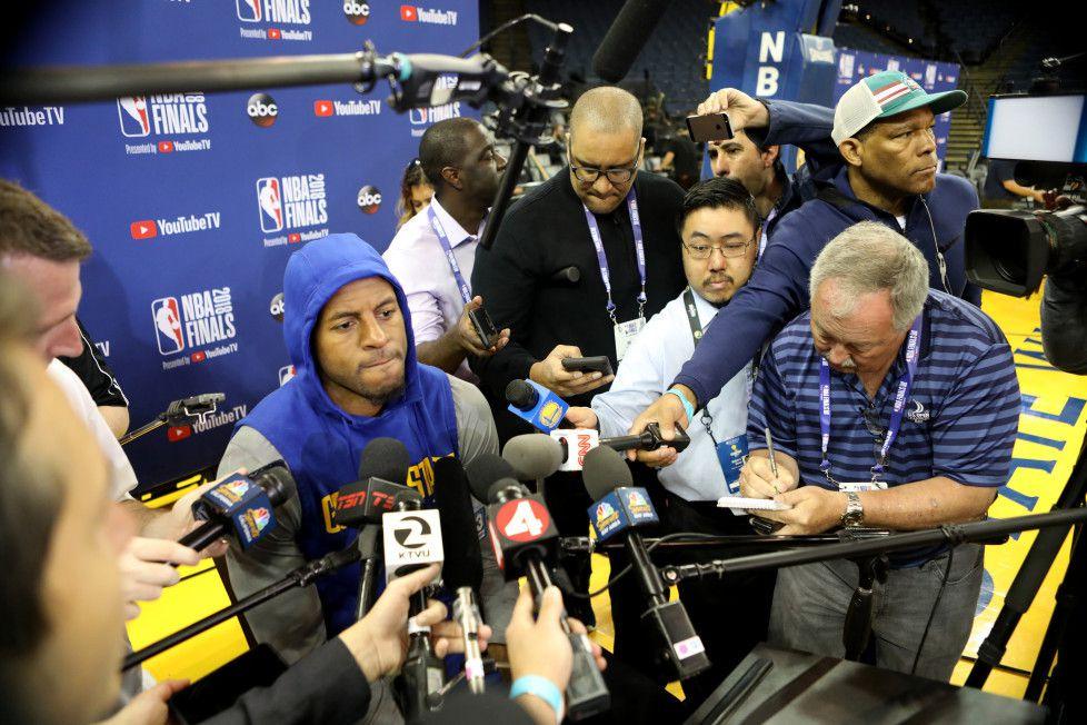 Golden State : Klay Thompson «douteux» et Andre Iguodala «Incertain»
