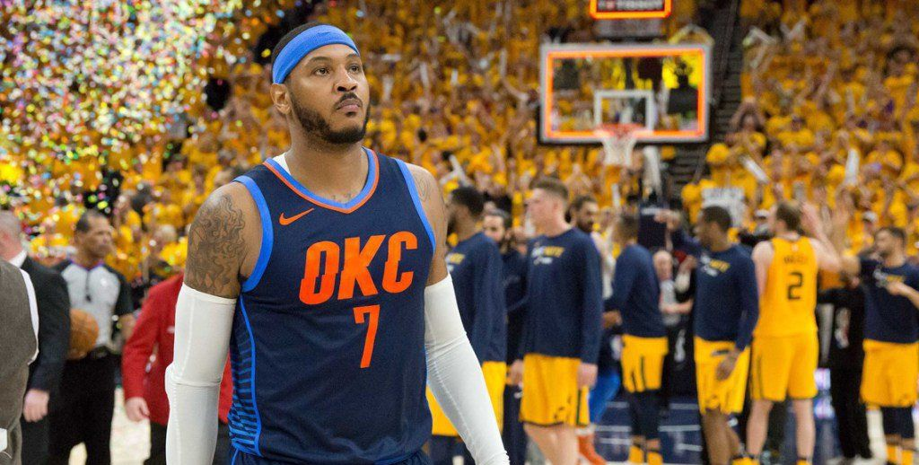 Carmelo Anthony rejoint (enfin) les Houston Rockets !