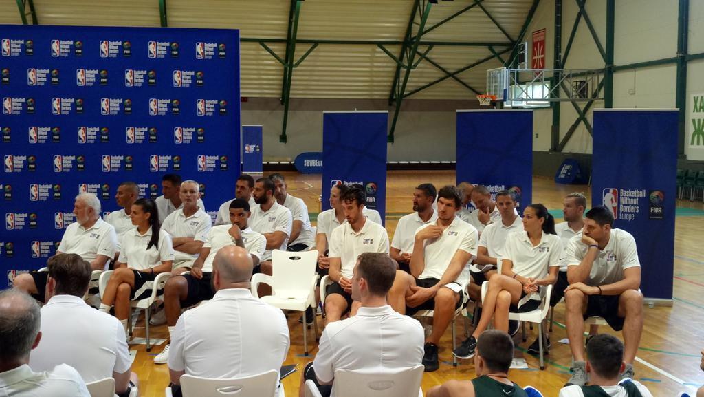 La NBA de retour au «pays du basket»