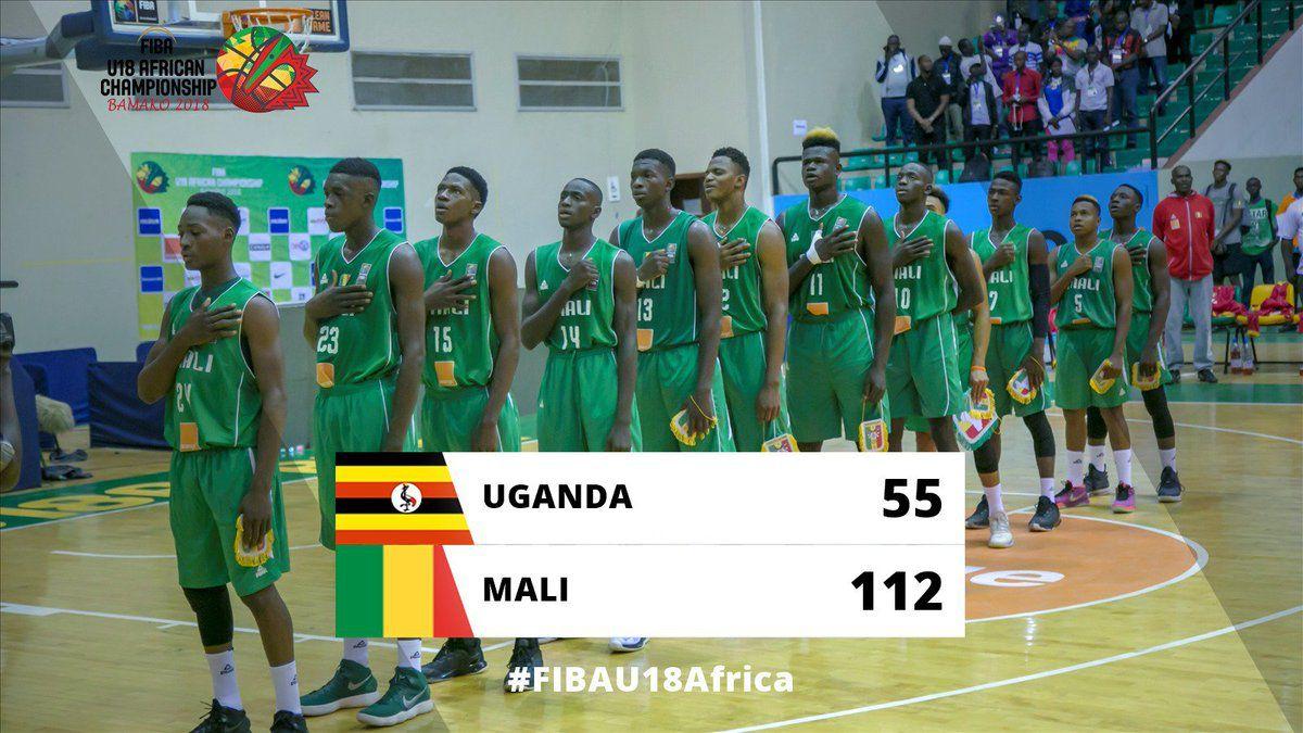 Championnat d'Afrique masculin des U18 : le Mali n'a fait qu'une bouchée de l'Ouganda