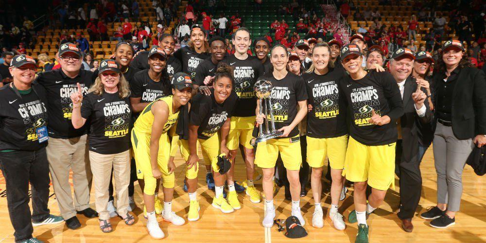 Seattle sacré champion WNBA pour la 3e fois de son histoire !