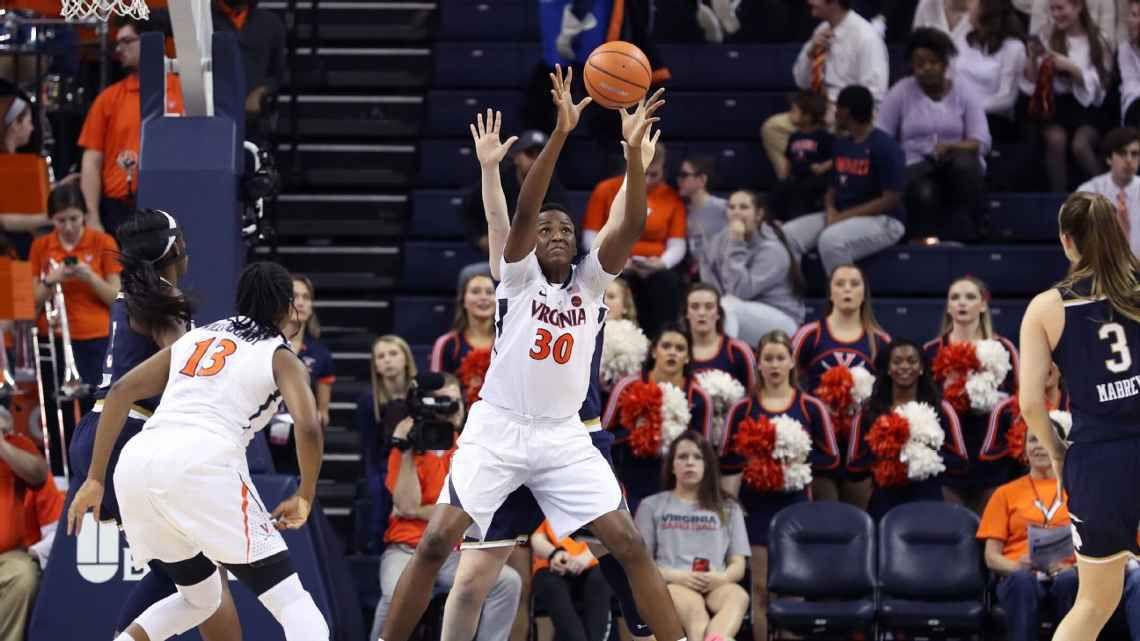 De Lagos à l'université de Virginie, l'histoire de Felicia Aiyeota, un phénomène du basket nigérian