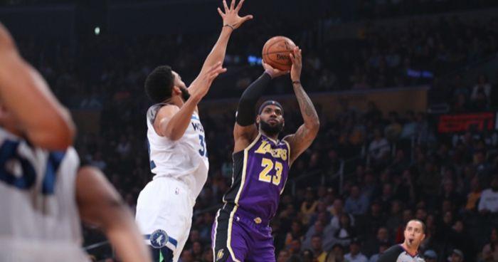 Les Lakers viennent à bout des Timberwolves