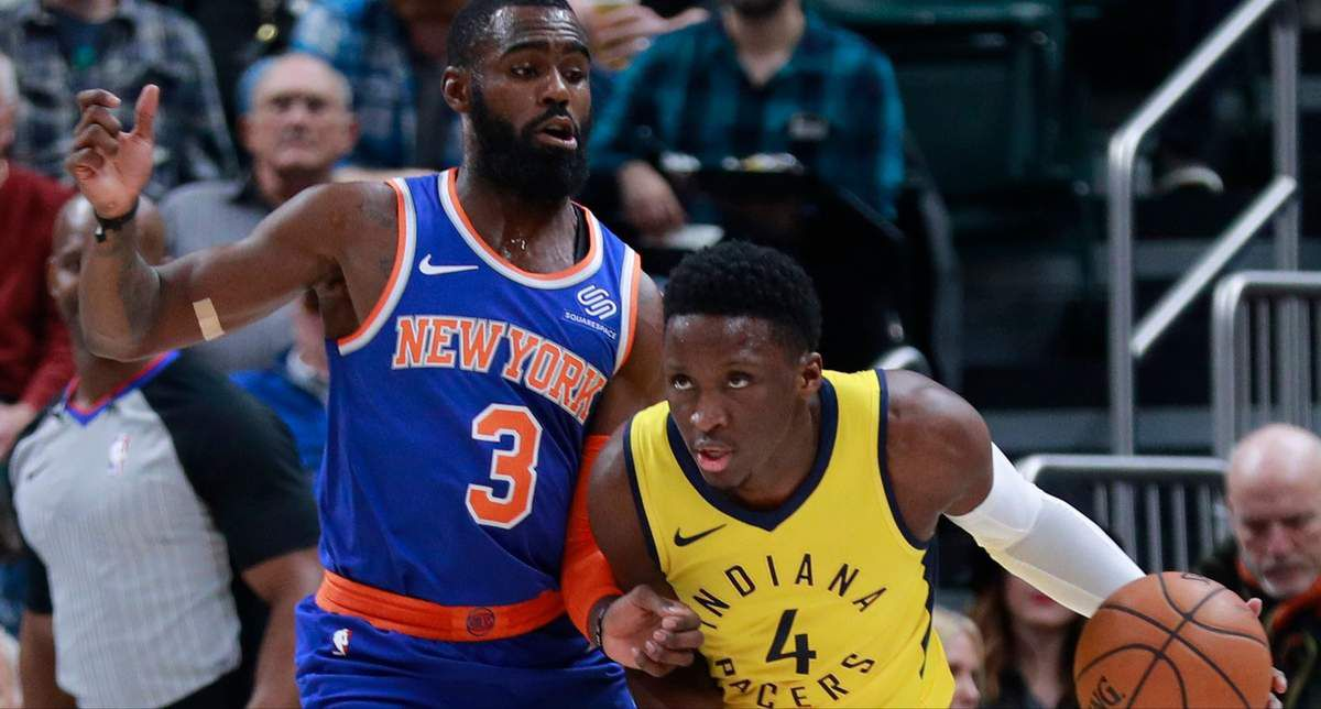 Victor Oladipo s'occupe des Knicks