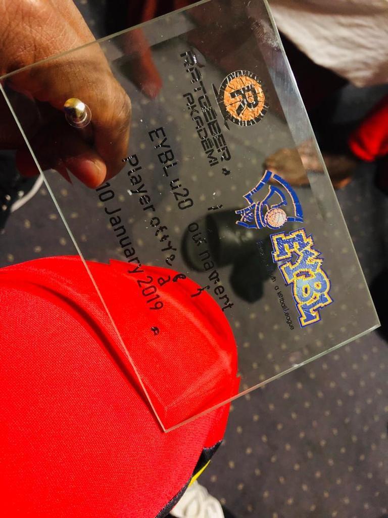 Kurt-Curry Wegscheider élu MVP du match