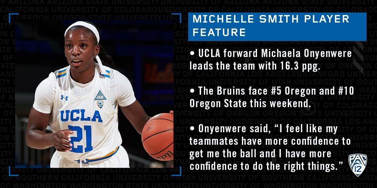 NCAA : Michaela Onyenwere prend feu mais UCLA tombe face à l'Oregon State