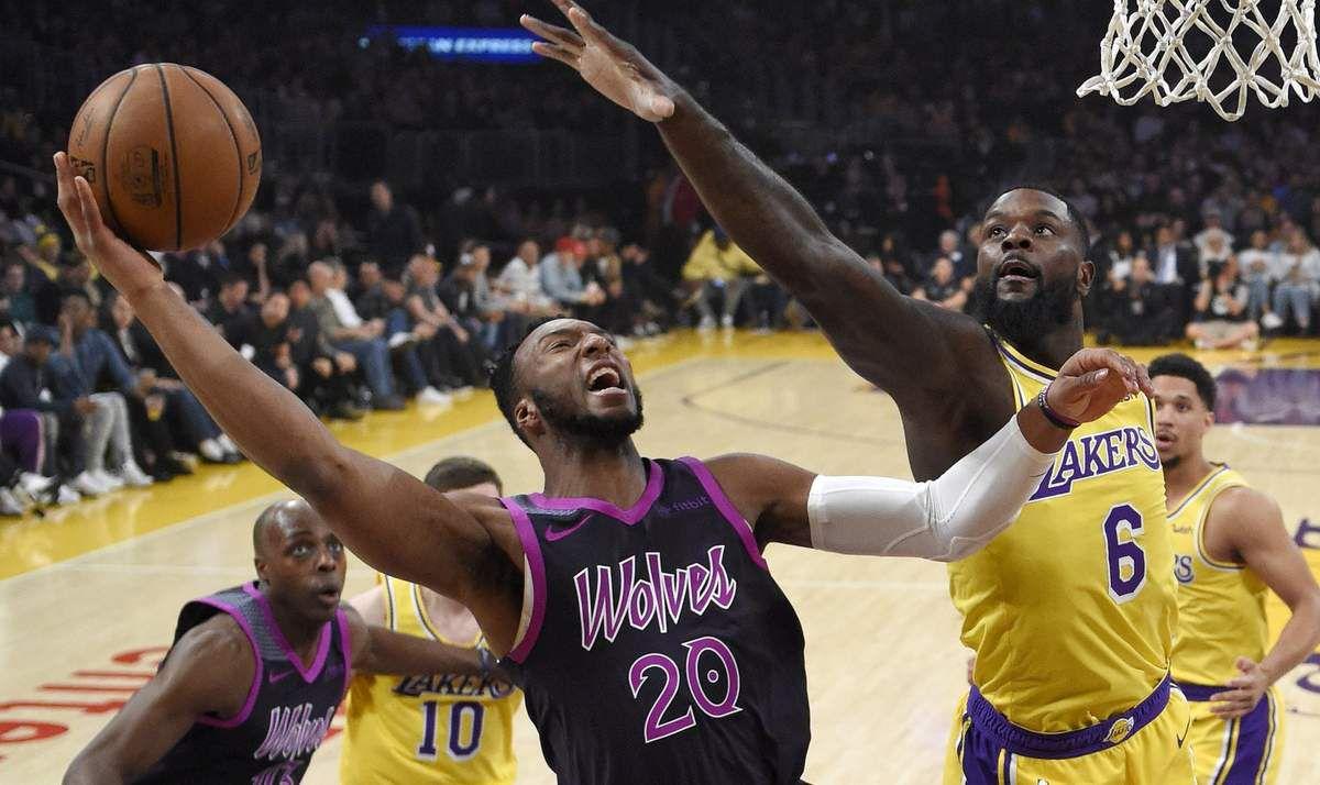 Les Timberwolves infligent une troisième défaite de suite aux Lakers