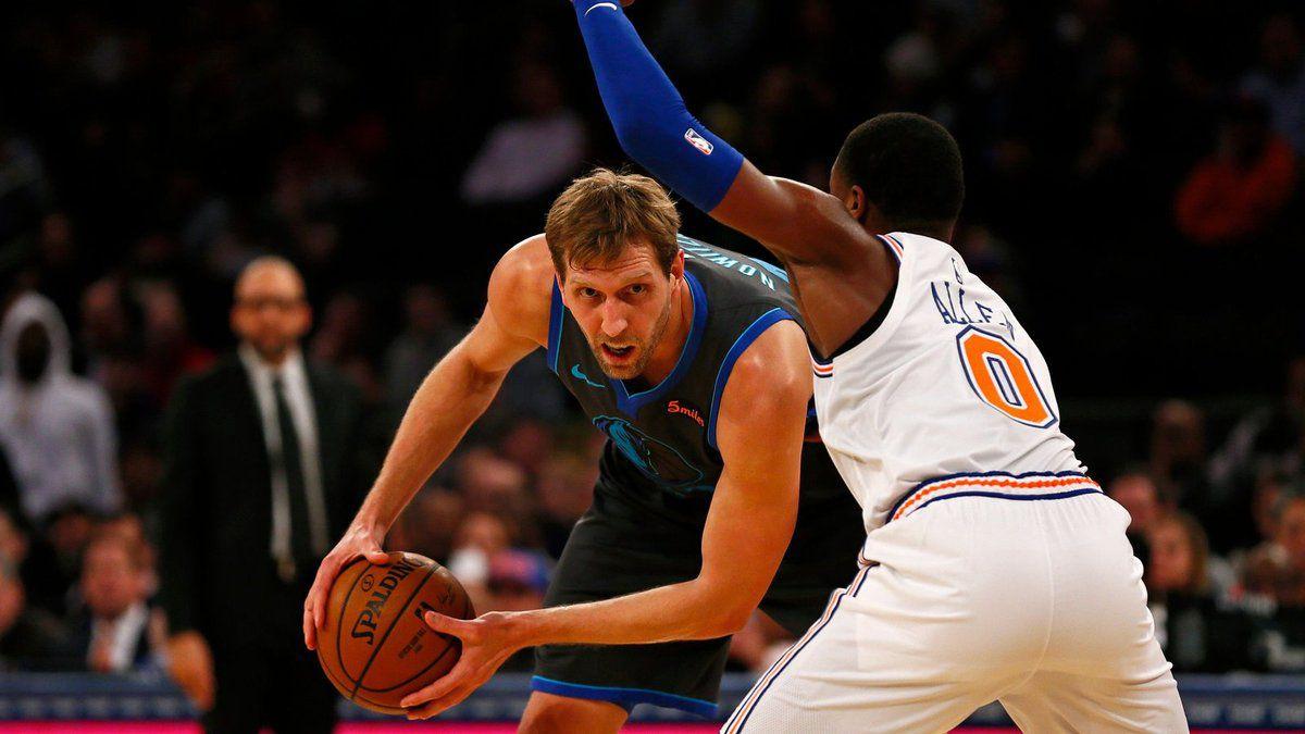 Les Mavericks infligent une onzième défaite consécutive aux Knicks