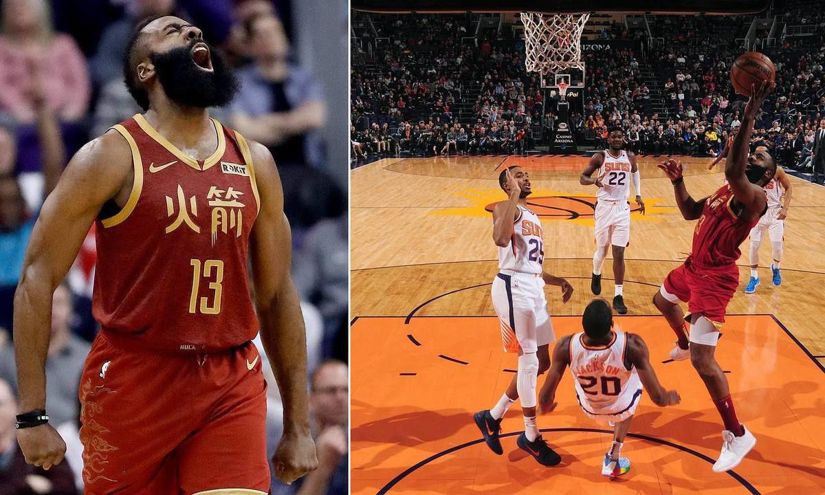 James Harden fait la misère aux Suns de Phoenix