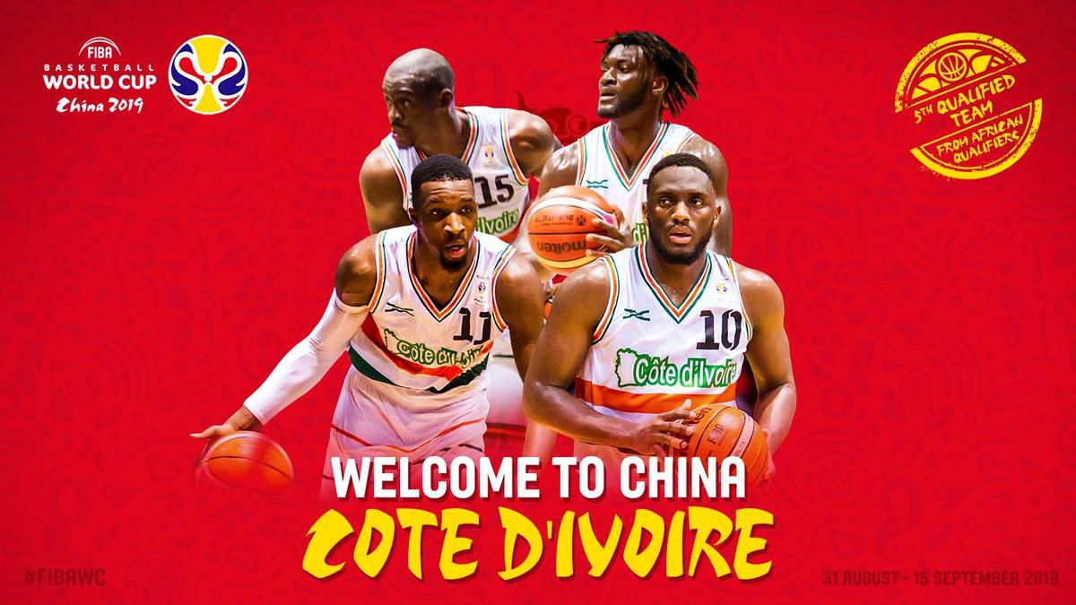 FIBAWC : la Côte d'Ivoire décroche le dernier ticket qualificatif pour la Coupe du Monde 2019