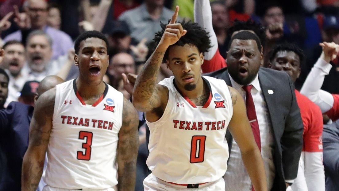 March Madness : Texas Tech rejoint Michigan au Sweet 16