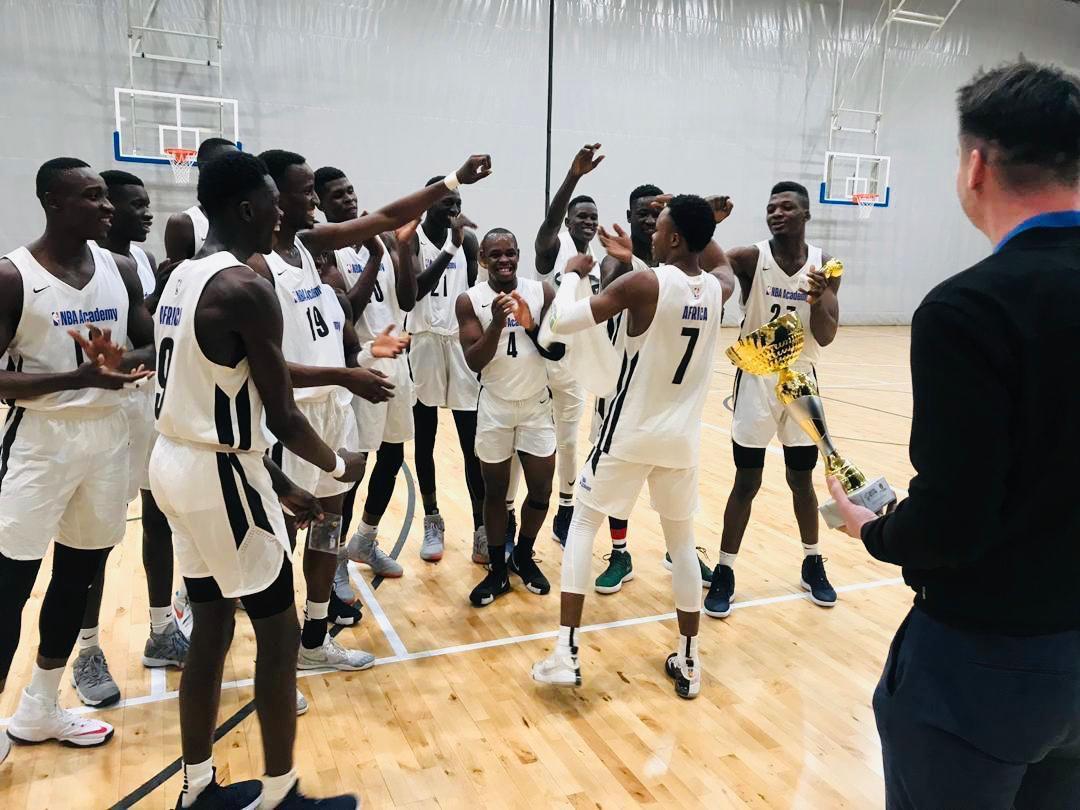 La NBA Academy Africa remporte le tournoi EYBL, Wegscheider élu MVP du tournoi !