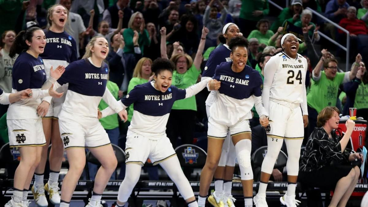 March Madness : Notre-Dame résiste à Stanford et rejoint UConn au Final Four !