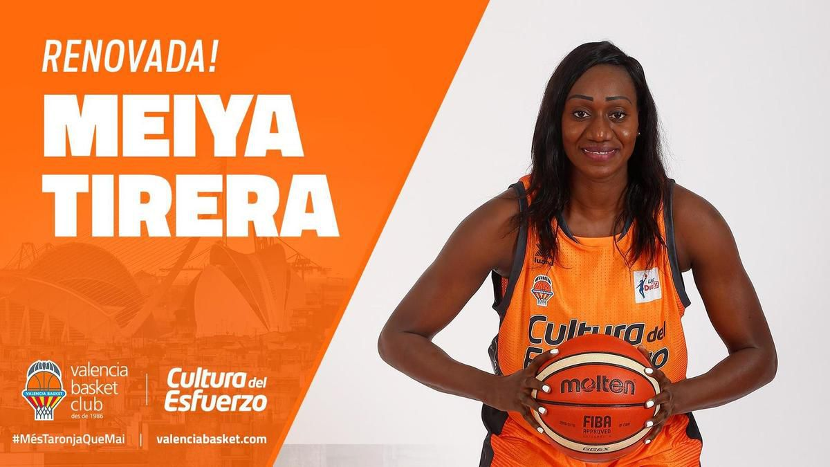 Meiya Tirera rempile avec Valencia Basket !