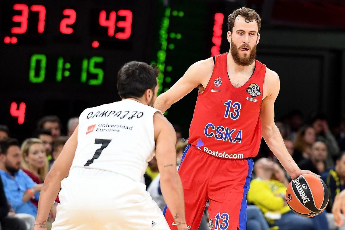 Final Four : le CSKA Moscou élimine le Real Madrid et rejoint l'Anadolu Efes Pilsen en finale de l'EuroLeague