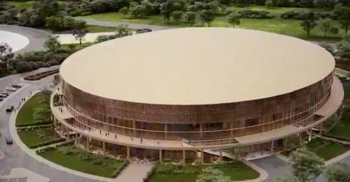 Le Kigali Arena à la pointe de la technologie touche à sa fin