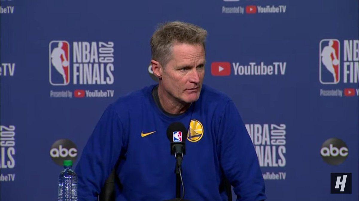 Pour Steve Kerr, les Finales NBA 2019 est «un retour à la normale»