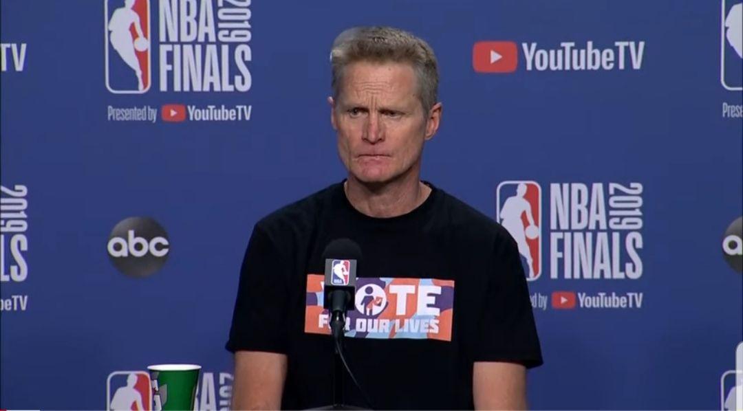Steve Kerr : «C'était une superbe victoire»