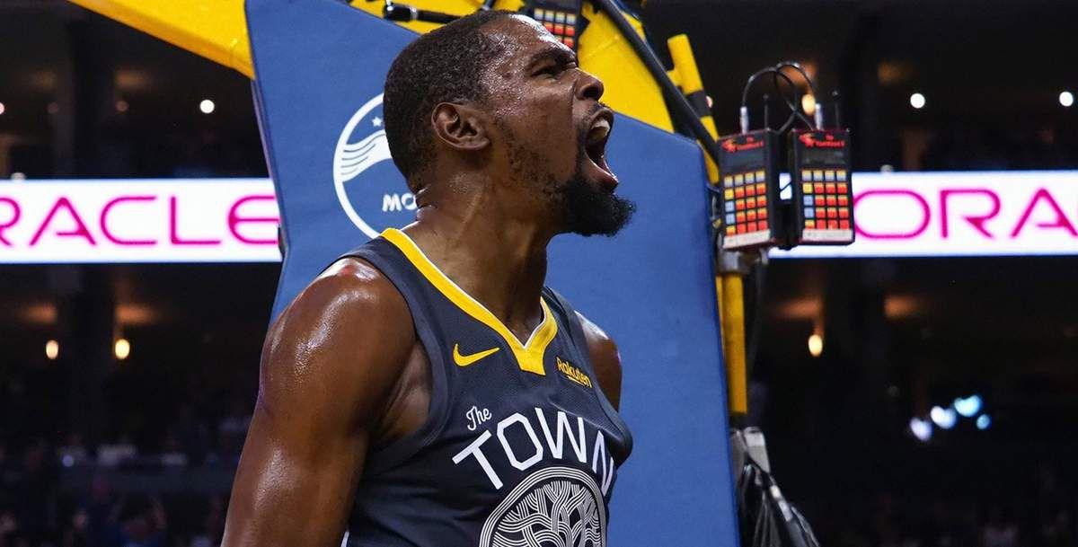 Kevin Durant dans le cinq de départ des Warriors pour le Game 5 ?