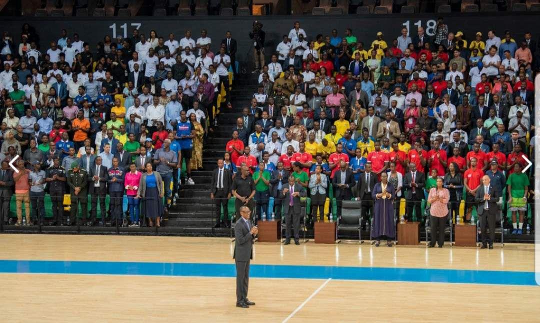 Le président rwandais Paul Kagame inaugure l'Aréna ultramoderne de Kigali