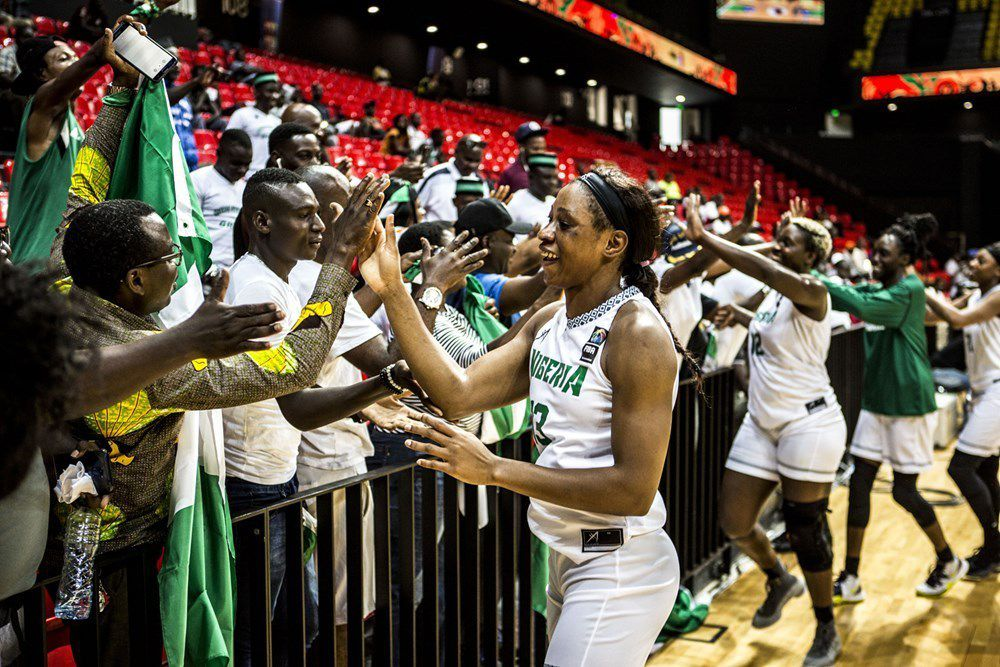 Evelyn Akhator, star des D'Tigress du Nigéria
