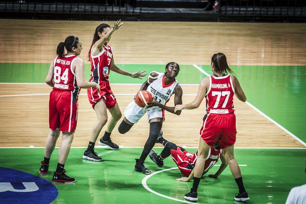 Djefarina Diawara propulse la Côte d'ivoire en quart de finale de l'AfroBasket féminin 2019