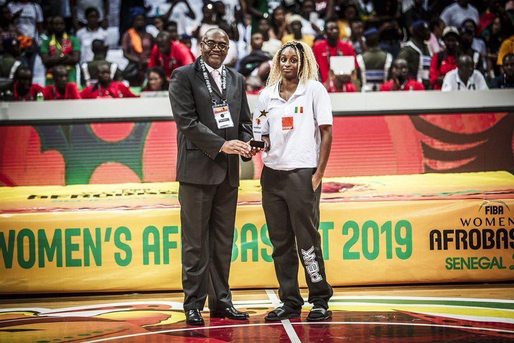 Touty Gandega élue meilleure meneuse de l'AfroBasket women 2019