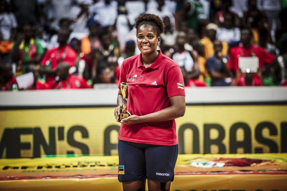 Tamara Seda, la tour de Contrôle du Mozambique élue meilleure rebondeuse de l'AfroBasket féminin 2019