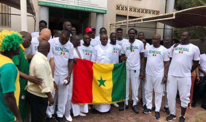 Les Lions du Sénégal ont quitté Dakar mercredi soir pour la Chine