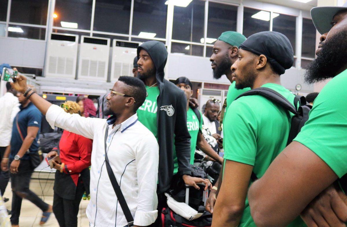 Les D'Tigers du Nigéria sont arrivés en Chine et prendront part à un tournoi international de Peak