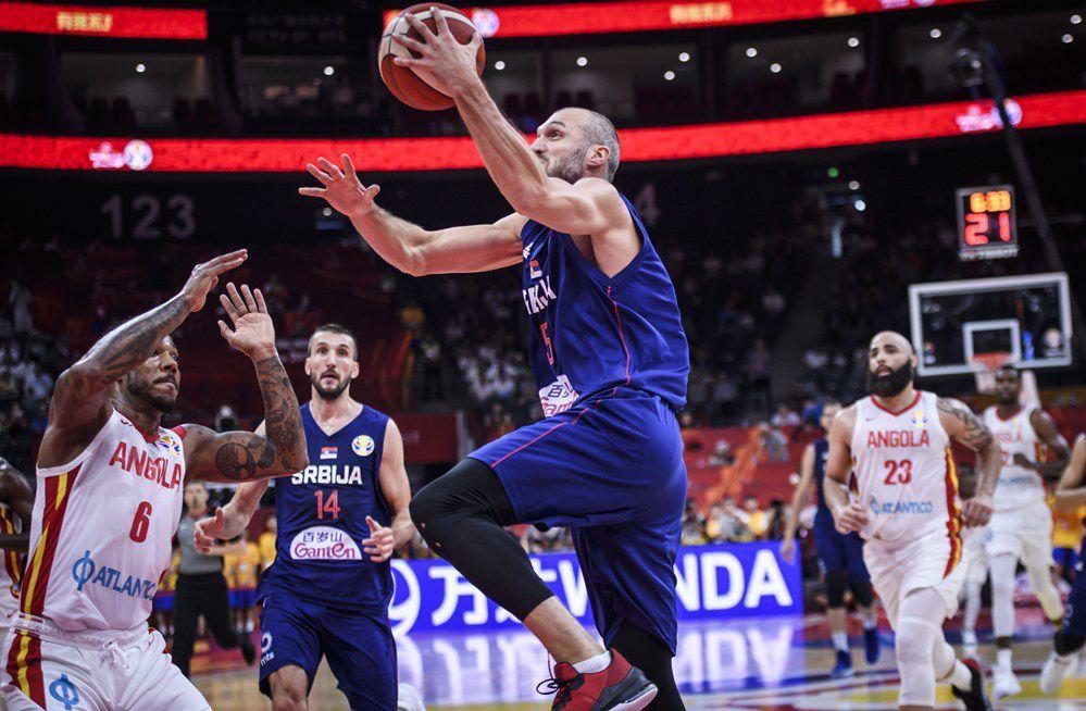 Groupe D : La Serbie humilie l'Angola pour son premier match (+46 points)