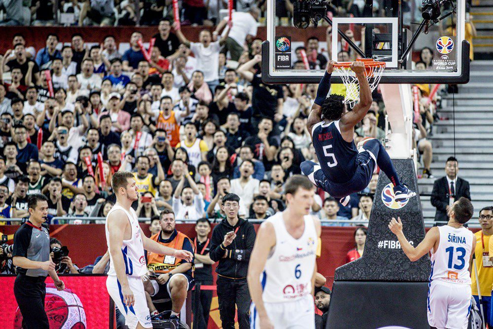 Groupe E : La Team USA domine la République Tchèque